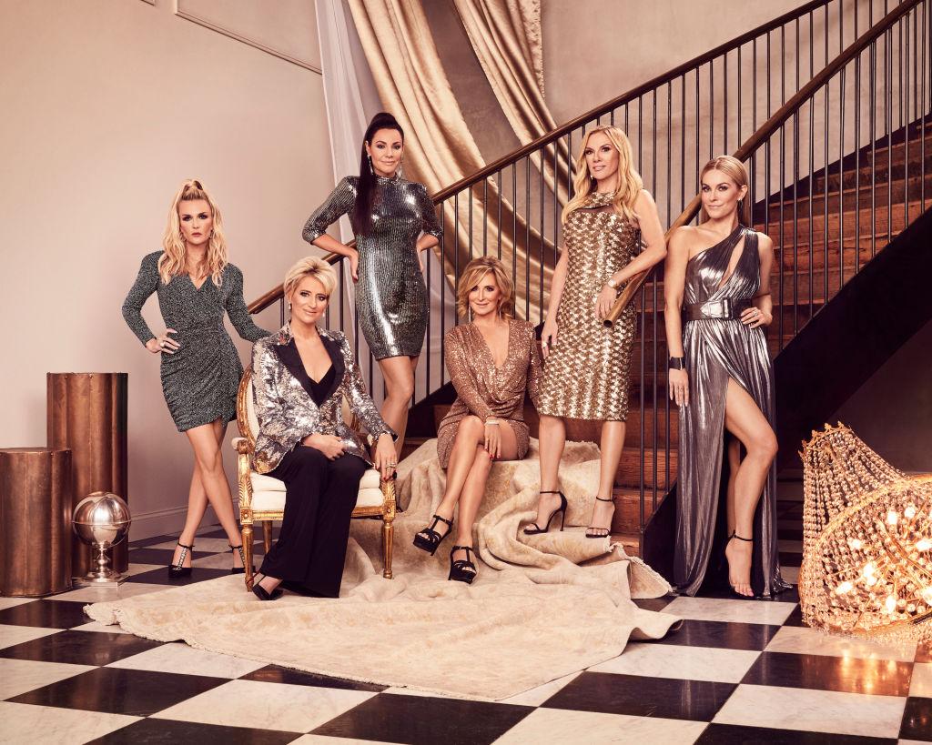 Tinsley Mortimer, Dorinda Medley, Luann de Lesseps, Sonja Morgan, Ramona Singer, Leah McSweeney