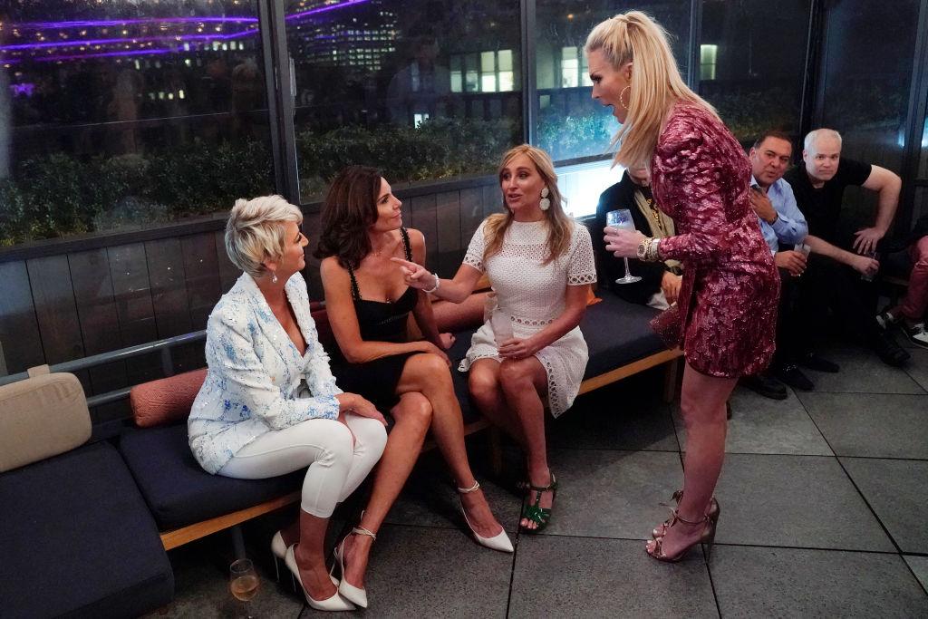 Dorinda Medley, Luann de Lesseps, Sonja Morgan, Tinsley Mortimer