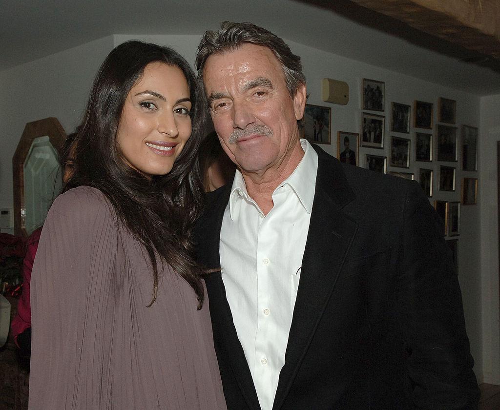 Raya Meddine and Eric Braeden in 2008