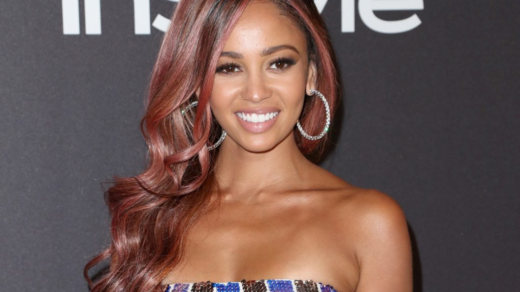 Riverdale Star Vanessa Morgan at the InStyle And Warner Bros. Golden Globes After Party 2019 at The Beverly Hilton Hotel on January 6, 2019.
