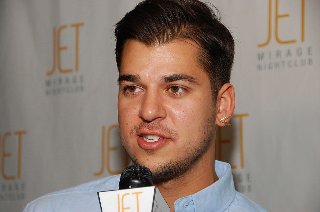 Rob Kardashian Admits Hes Not Comfortable With His