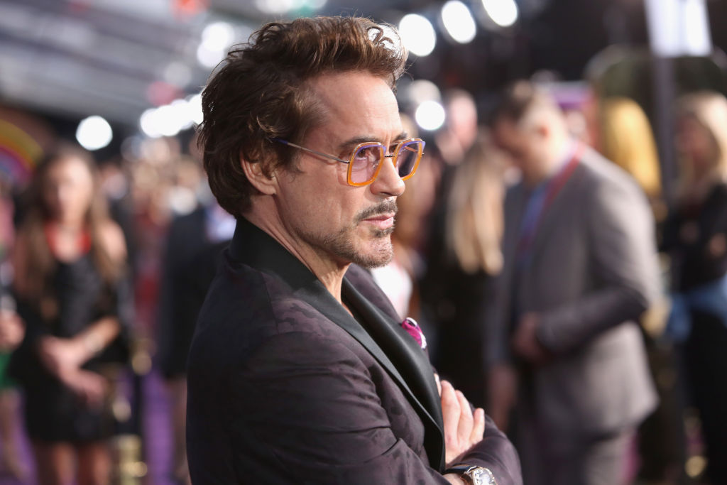 Actor Robert Downey Jr. attends the Los Angeles Global Premiere for Marvel Studios 'Avengers: Infinity War'