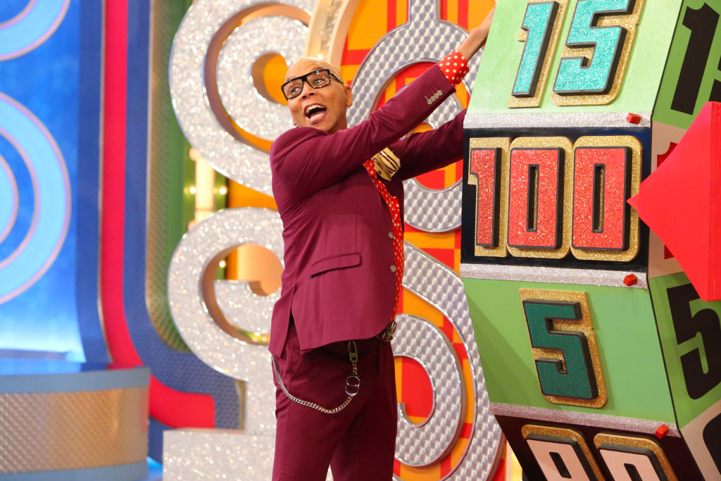 RuPaul Charles on 'The Price is Right'