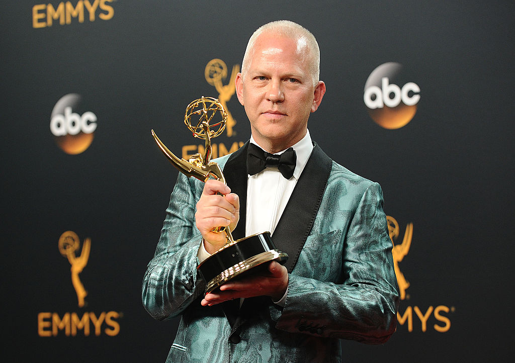 Ryan Murphy with Emmy