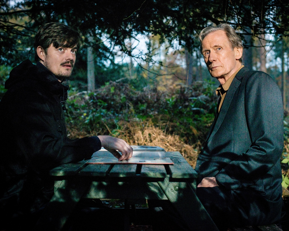 Sam Riley and Bill Nighy in Sometimes Always Never
