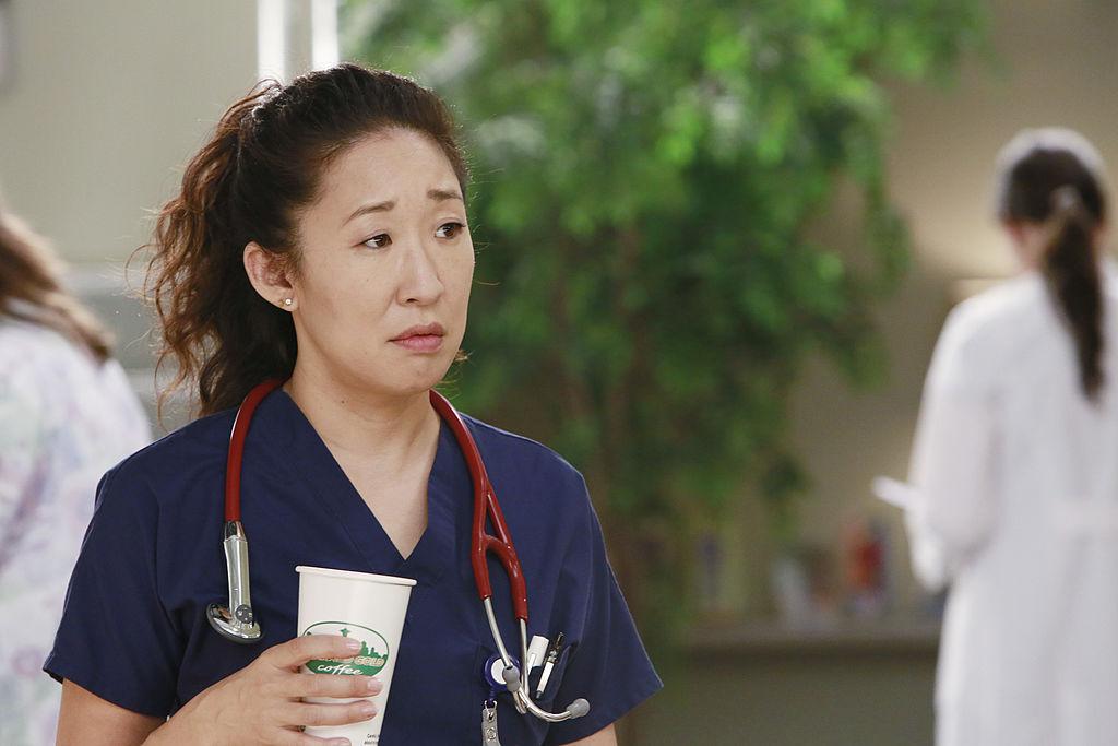 "Sandra Oh as Cristina Yang on ABC's ""Grey's Anatomy"" - Season Nine"