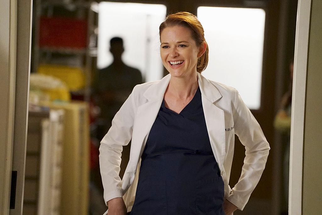 "Sarah Drew as April Kepner on ABC's ""Grey's Anatomy"" - Season Twelve"