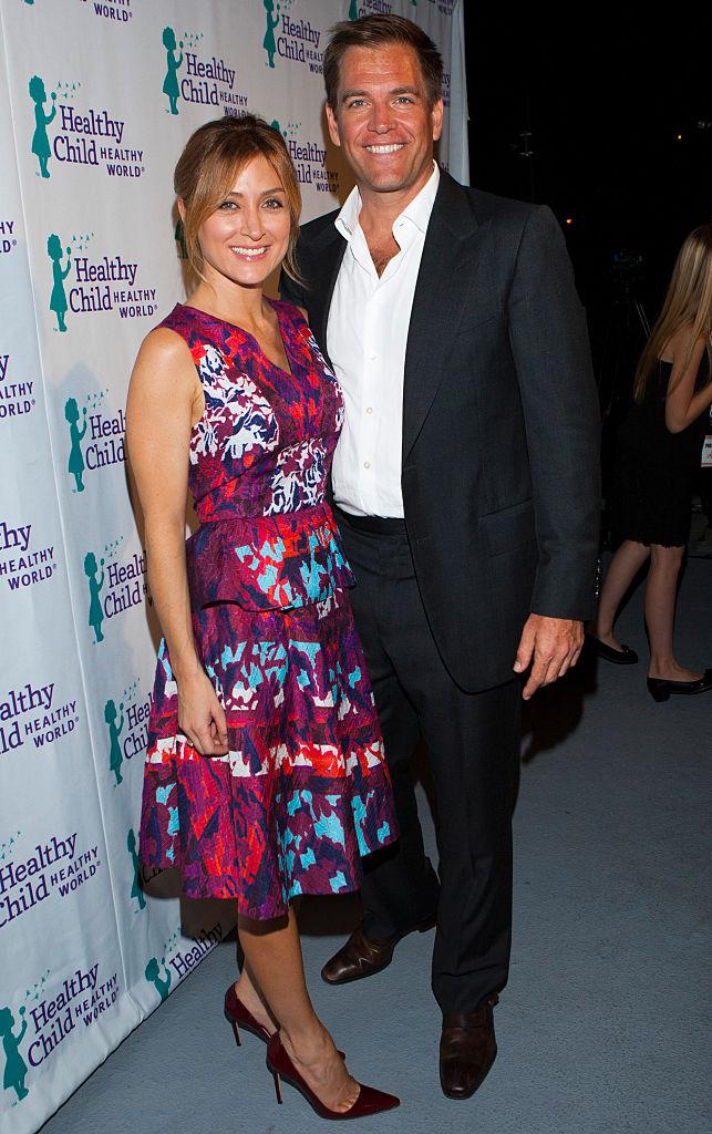 Former NCIS stars Michael Weatherly and Sasha Alexander