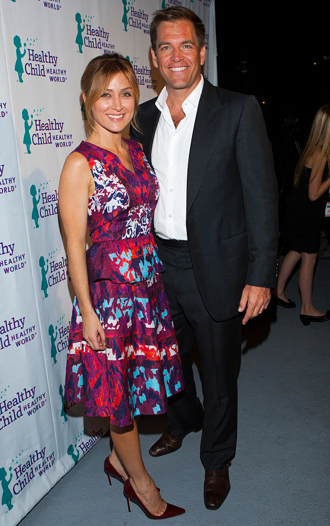 Former NCIS stars Michael Weatherly and Sasha Alexander