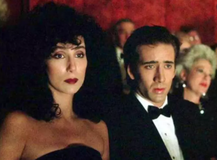 Cher and Nicolas Cage in 'Moonstruck'