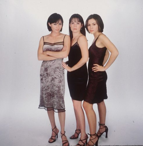 Shannen Doherty, Holly Marie Combs, and Alyssa Milano