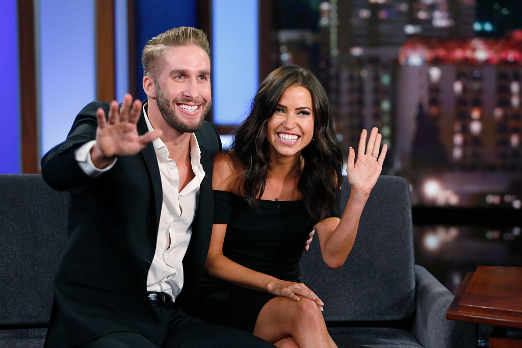 """Kaitlyn Bristowe and Shawn Booth of 'The Bachelorette' on ABC's """"Jimmy Kimmel Live"""" - Season 13"""