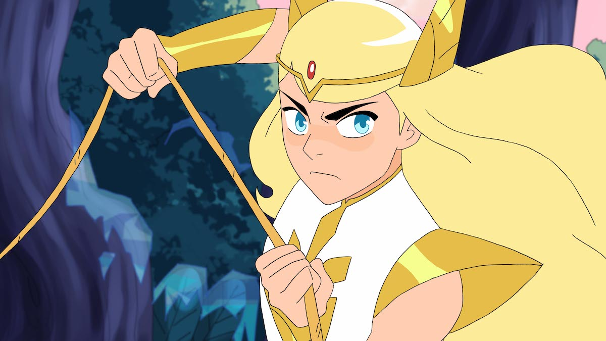 Adora turns into She-Ra to help save Etheria in 'She-Ra and the Princesses of Power'