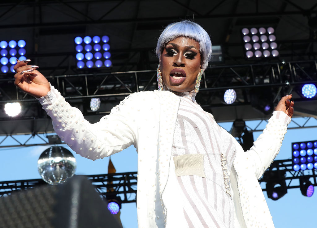 Shea Couleé performs at the 2017 Capital Pride Concert