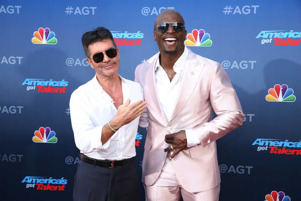 America's Got Talent Simon Cowell and Terry Crews