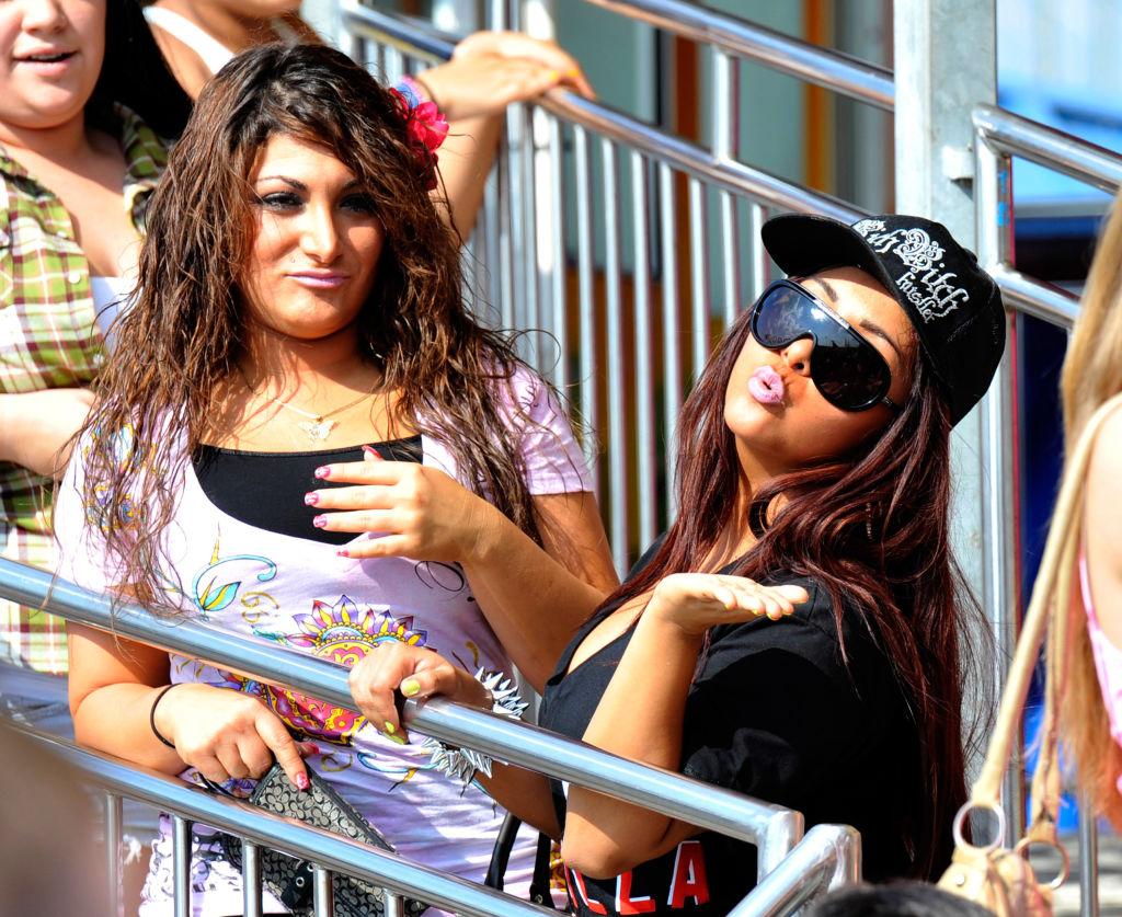 Nicole 'Snooki' Polizzi and Deena Cortese