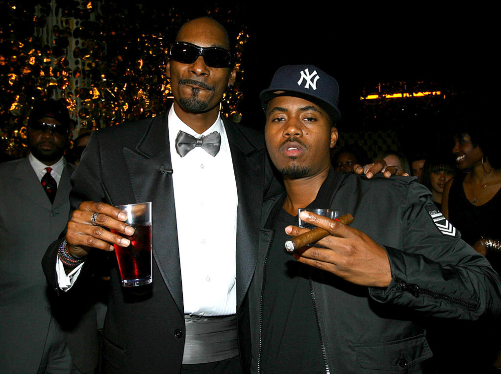 Snoop Dogg and Nas