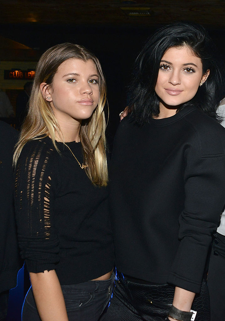Sofia Richie and Kylie Jenner