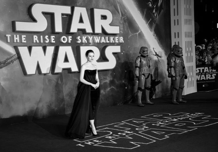 'Star Wars' Daisy Ridley as Rey