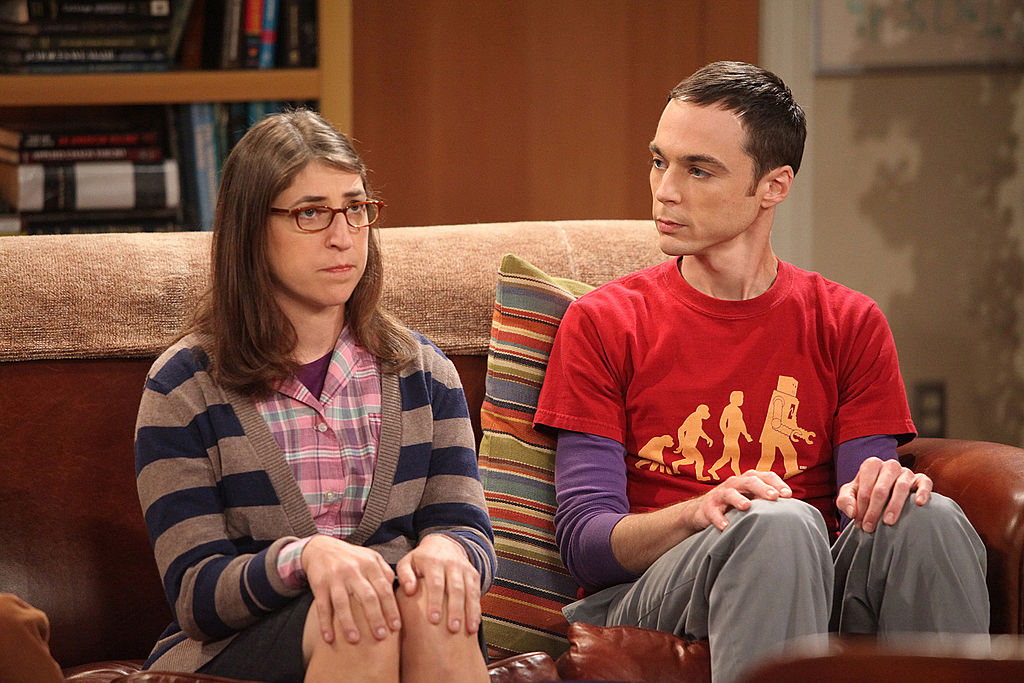 Sheldon Cooper and Amy Farrah Fowler