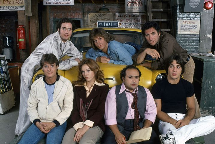 Andy Kaufman (as Latka), Randall Carver (as John), Marilu Henner (as Elaine), Jeff Conaway (as Bobby), Danny DeVito (as Louie), Judd Hirsch (as Alex), Tony Danza (as Tony)