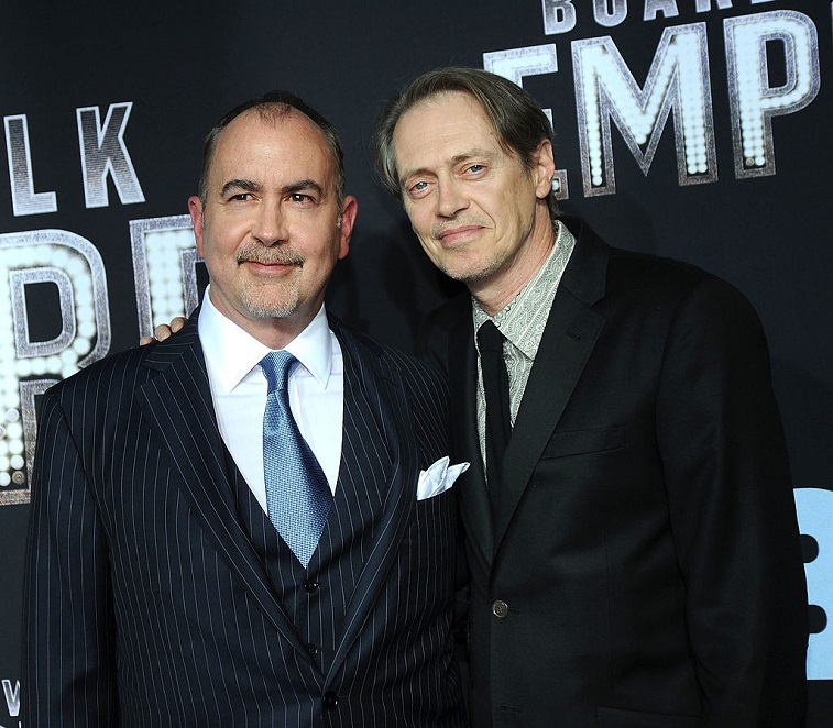 Terence Winter and Steve Buscemi