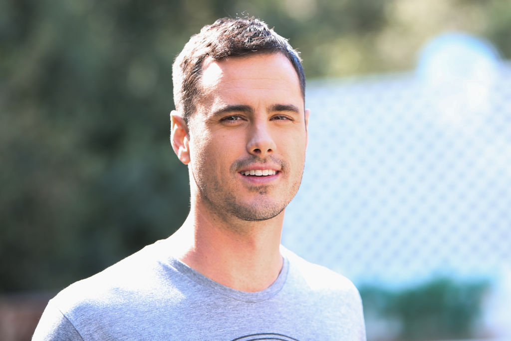 "Ben Higgins of 'The Bachelor' at Celebrities Visit Hallmark's ""Home & Family"""