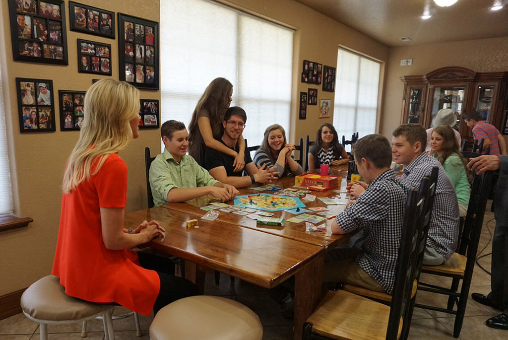 Members of the Duggar family sit down for an interview