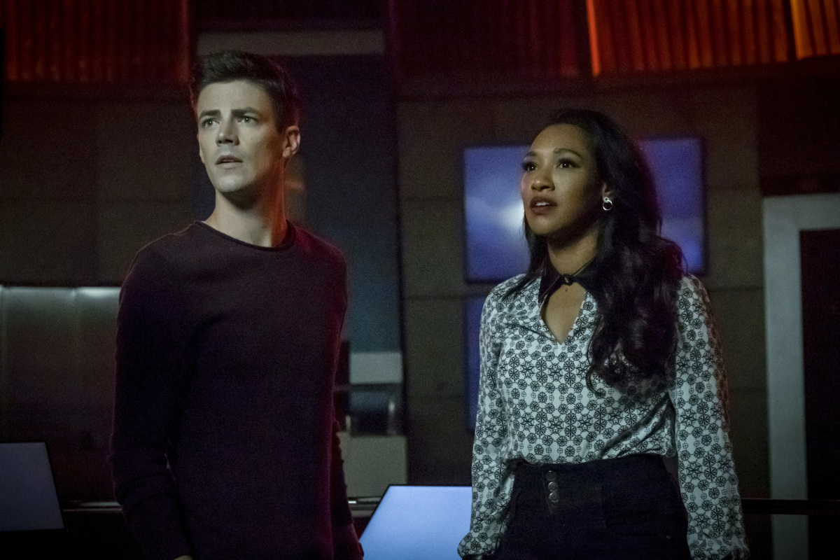 'The Flash' stars Grant Gustin and Candice Patton