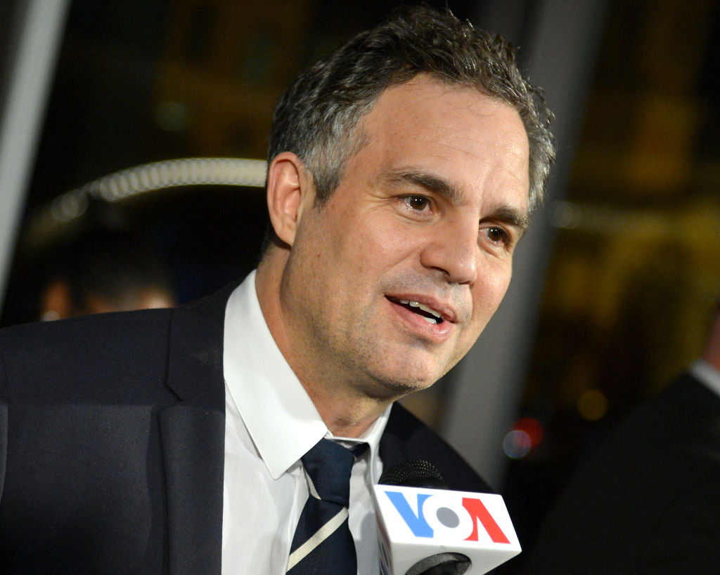 Actor Mark Ruffalo attends the Washington, DC premiere of the motion picture 'Dark Waters'