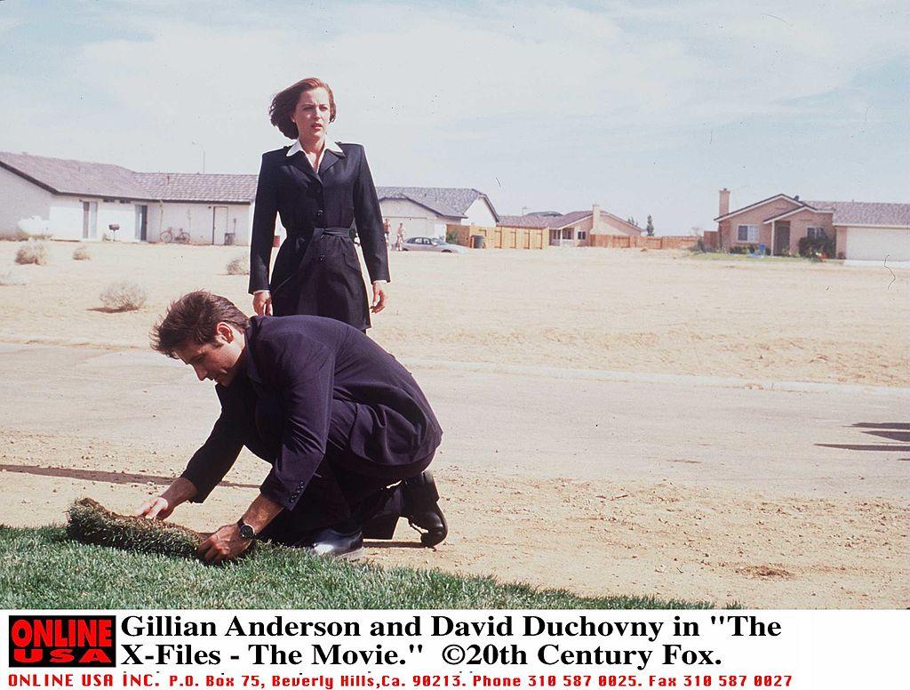 The X-Files set