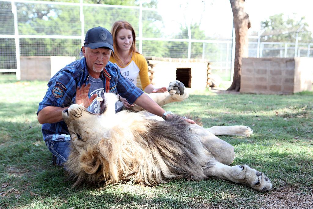 Tiger King's Jeff Lowe and Lauren Lowe