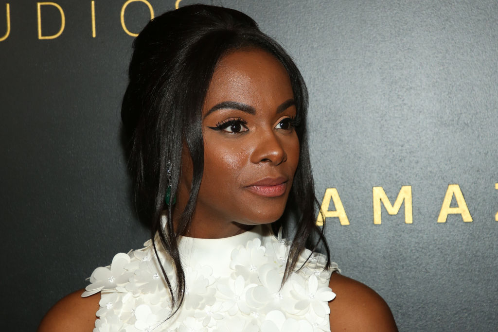 Tika Sumpter at Amazon Studios Golden Globes after party | Paul Archuleta/WireImage