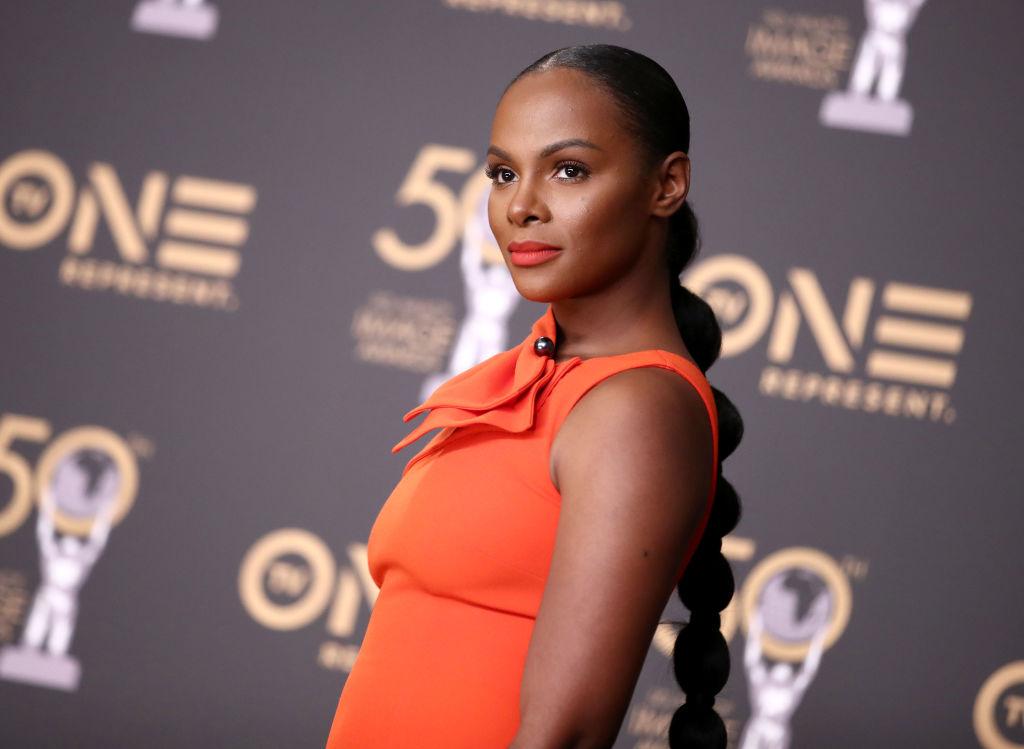 Tika Sumpter at the 2019 NAACP Image Awards | Rich Fury/FilmMagic