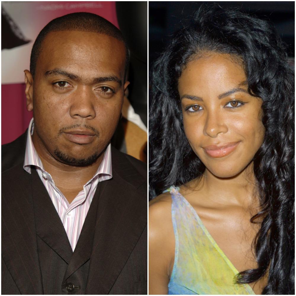 Timbaland and Aaliyah