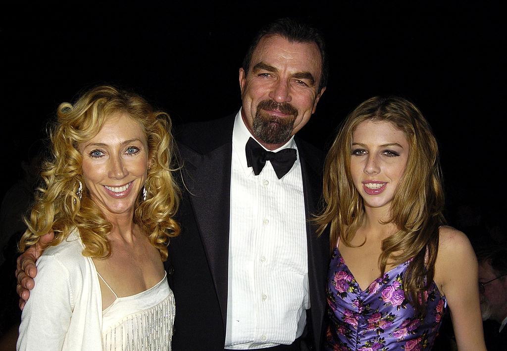 Blue Bloods star Tom Selleck, Jillie Mack, and Hannah Margaret Selleck