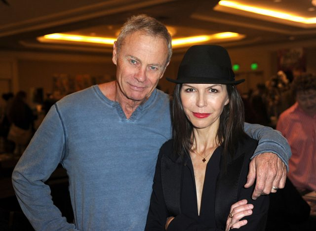 Tristan Rogers and Finola Hughes at The Hollywood Show
