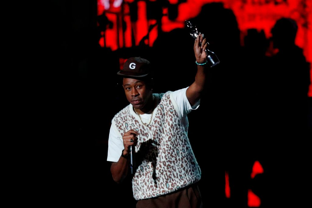 US rapper Tyler the Creator