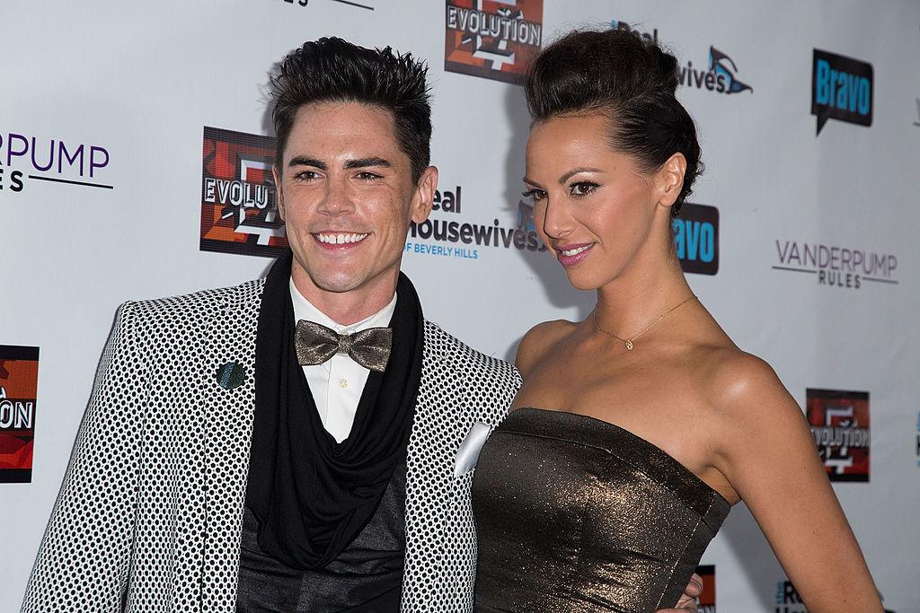 Tom Sandoval dan Kristen Doute menghadiri 'The Real Housewives Of Beverly Hills'