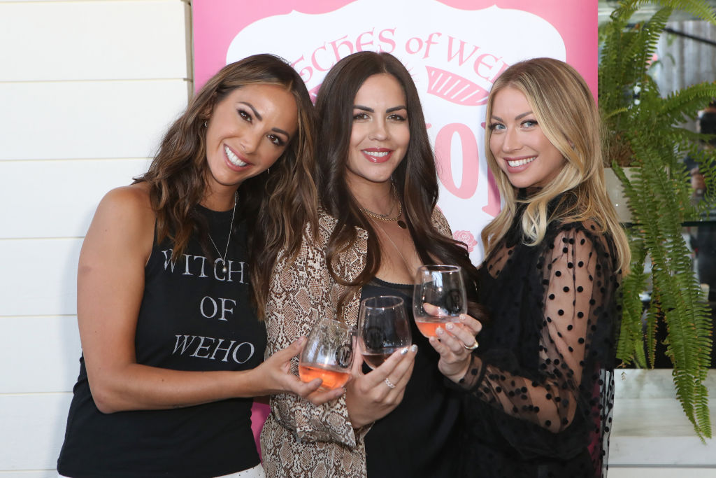 Kristen Doute, Katie Maloney Schwartz, and Stassi Schroeder from 'Vanderpump Rules'