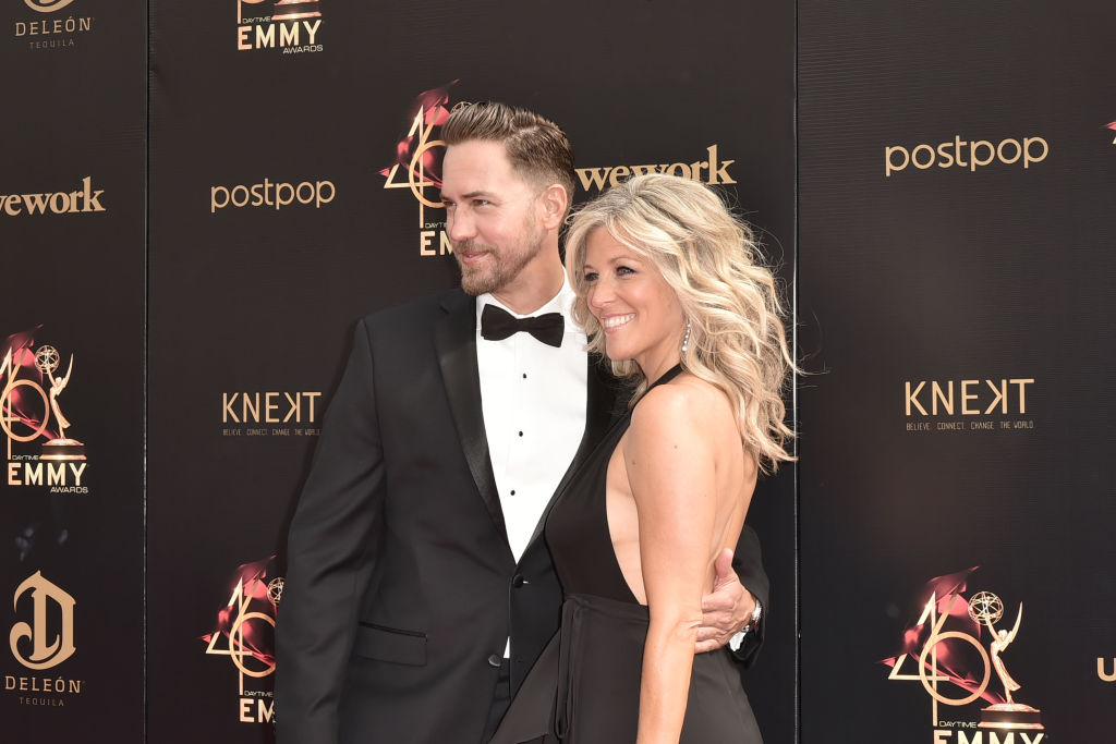 Wes Ramsey and Laura Wright