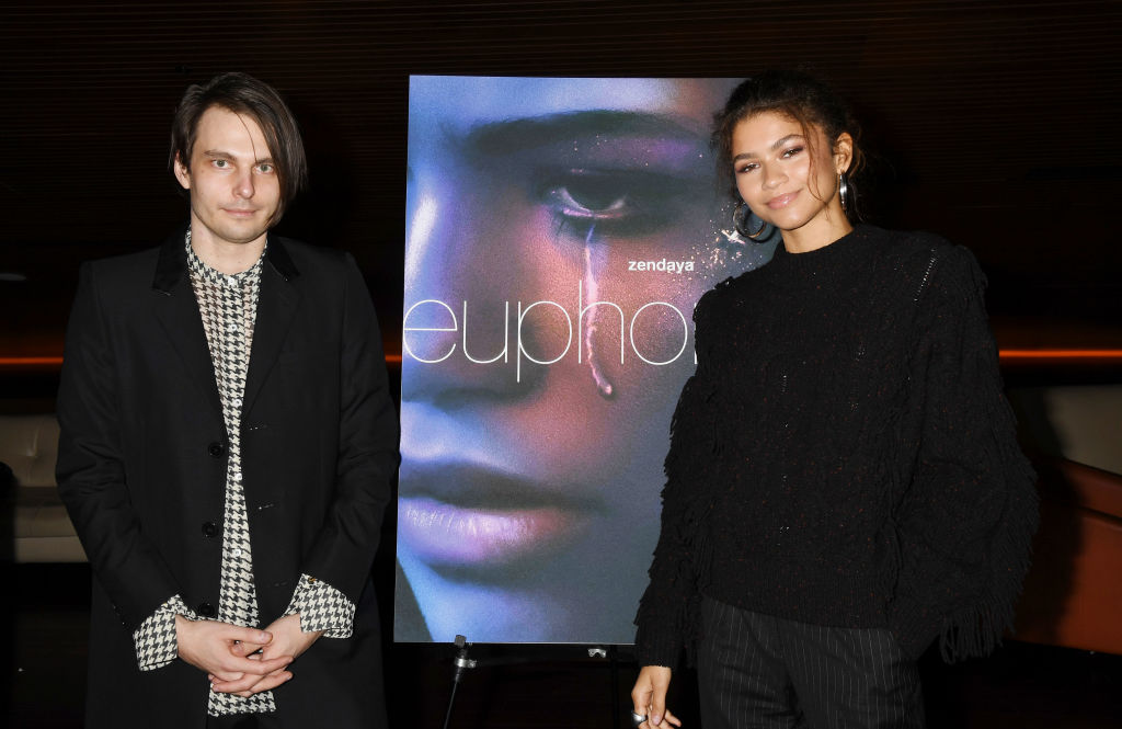 Sam Levinson and Zendaya attend the HBO 'Euphoria' FYC