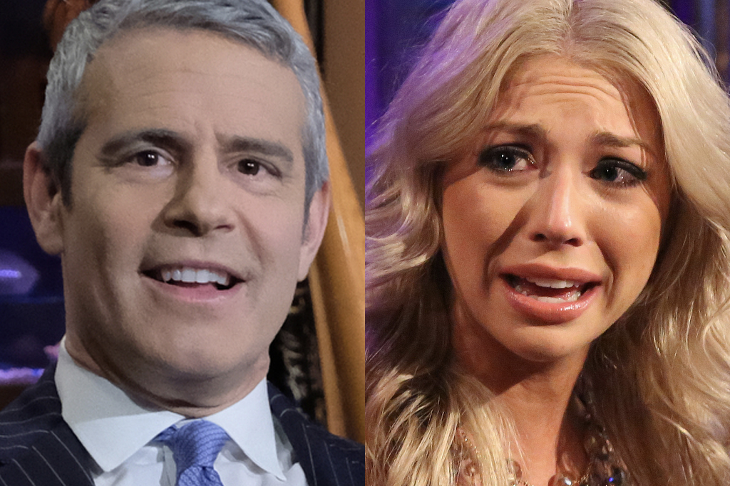 Andy Cohen and Stassi Schroeder