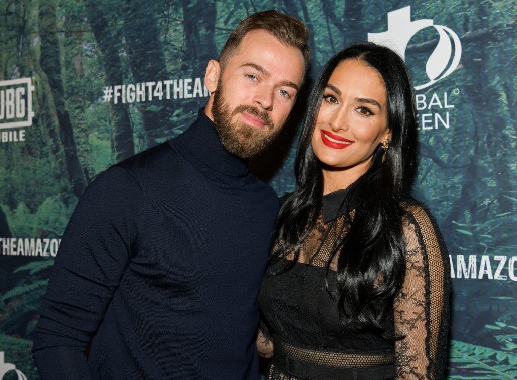 Artem Chigvintsev and Nikki Bella