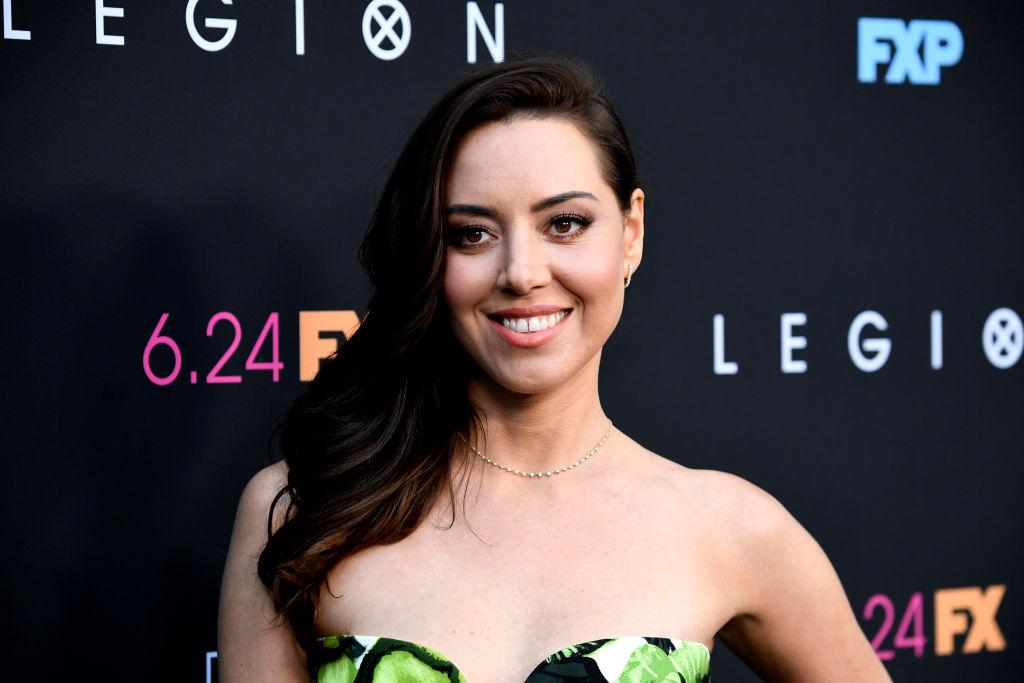 "Aubrey Plaza attends the LA Premiere Of FX's ""Legion"" Season 3 at ArcLight Hollywood"