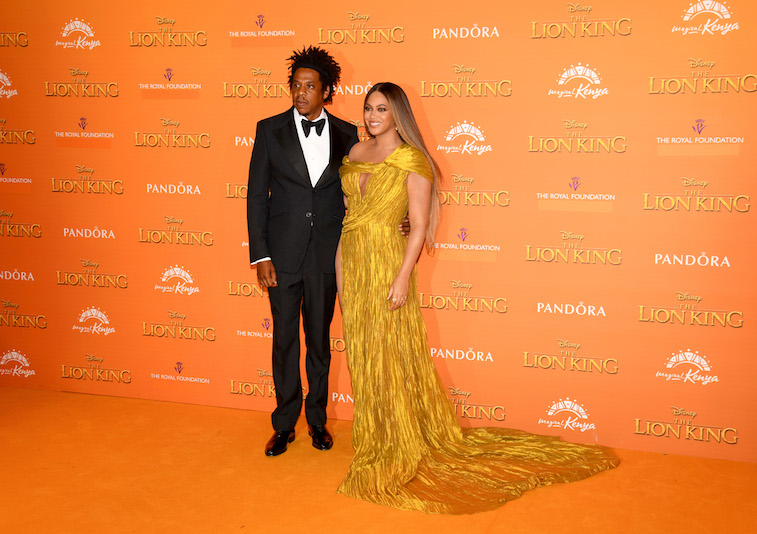 Beyonce and Jay-Z on the red carpet