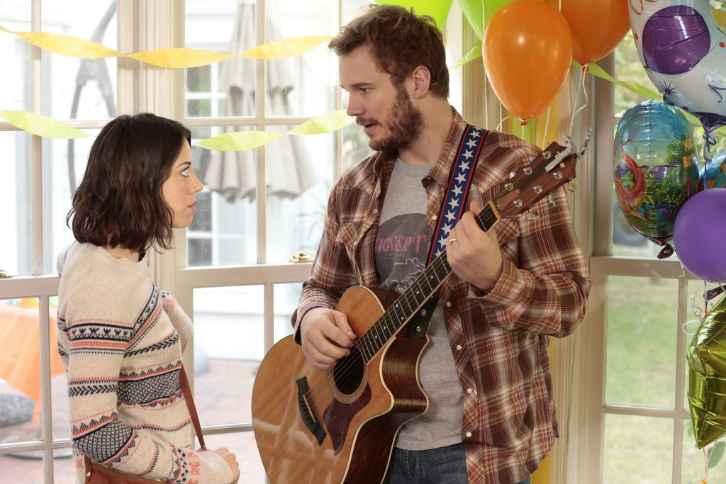 Aubrey Plaza as April Ludgate and Chris Pratt as Andy Dwyer on 'Parks and Recreation'