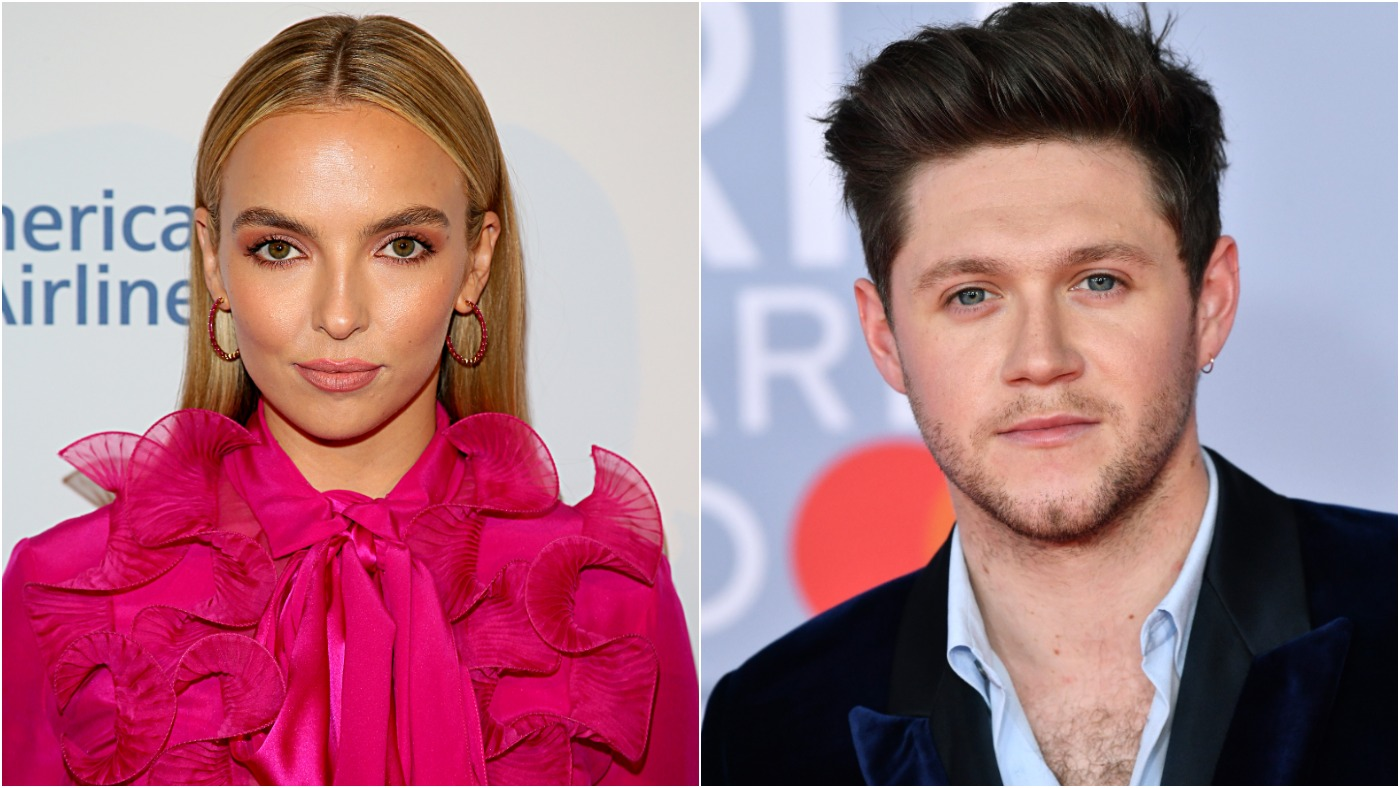 (L) Jodie Comer at The BAFTA Los Angeles Tea Party on January 04, 2020 / (R) Niall Horan at The BRIT Awards 2020.