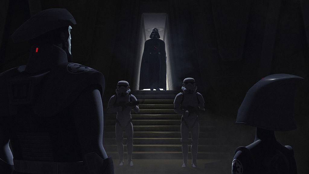 "Darth Vader is the 'Star Wars Rebels' episode ""Shroud of Darkness"""