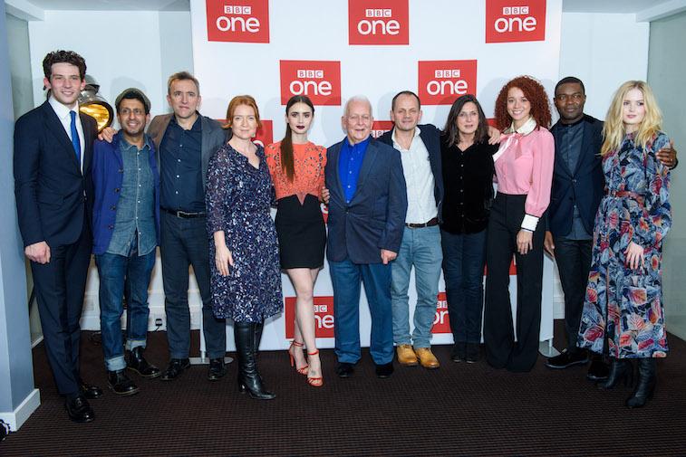 BBC One's 'Les Miserables' cast